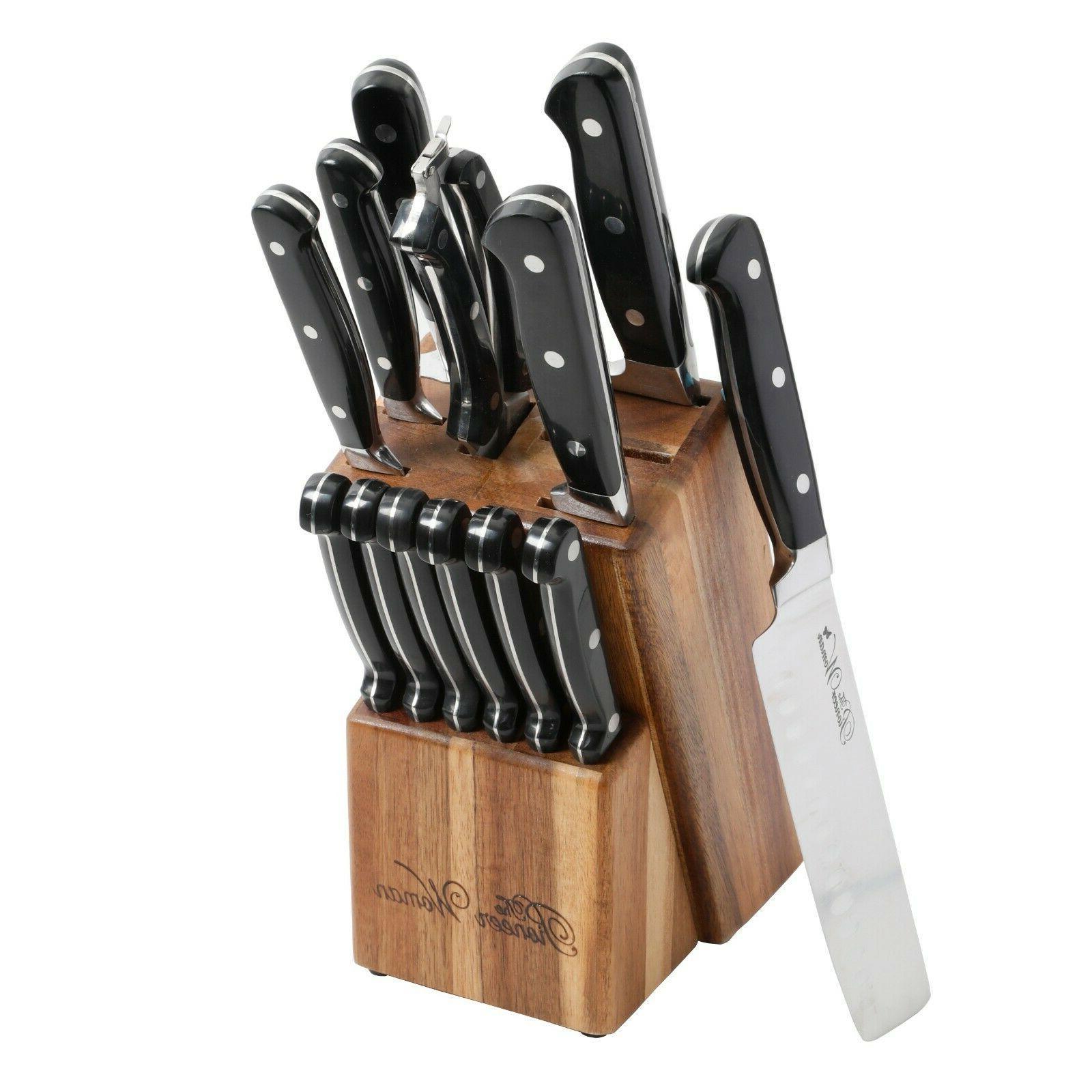 the cowboy rustic 14 piece black cutlery