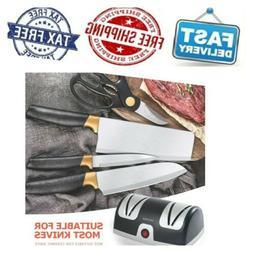 Secura Electric Knife Sharpener, 2-Stage Kitchen Knives Shar