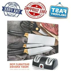 LINKYO Electric Knife Sharpener, Kitchen Knives Sharpening S