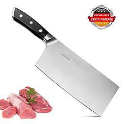 Meat Cleaver Butcher Knife Chinese Chef Knife Chopper 7 Inch