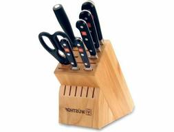 New WUSTHOF Classic 8 piece Knife Block Set - 8418