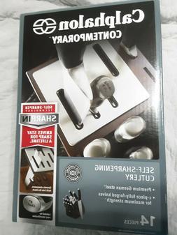 NEW! Calphalon Contemporary Self-Sharpening Cutlery German S