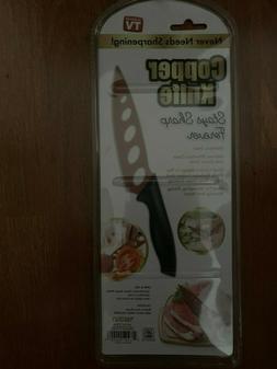NEW COPPER KNIFE Sharp Stainless Steel Non-Stick Kitchen Bla