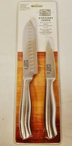 NEW Chicago Cutlery Insignia Parer & Partoku 2 Piece Stainle