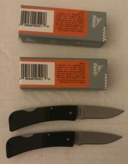 NEW: TWO GERBER ULTRALIGHT LST FINE EDGE KNIVES: MODEL 22-06