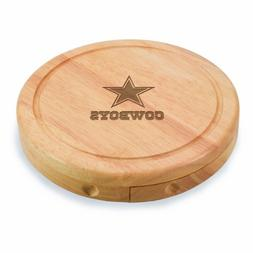 PICNIC TIME NFL Dallas Cowboys Brie Cheese Board/Tool Set, 7
