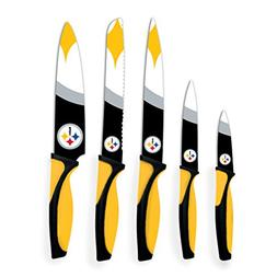 Sports Vault NFL Pittsburgh Steelers Kitchen Knives