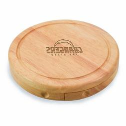 PICNIC TIME NFL San Diego Chargers Brie Cheese Board/Tool Se