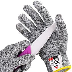 NoCry Cut Resistant Gloves for Kids - High Performance Level