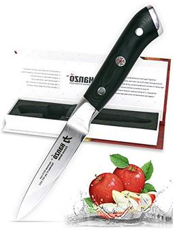 HANZO Paring Professional Chef Knife - 3.75 inch Katana Seri