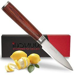 Professional Paring Knife, 4 inch with Japanese VG-10 Stainl