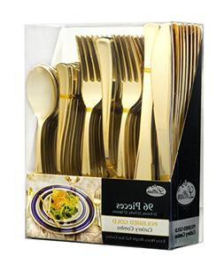 Plastic Cutlery Silverware Extra Heavyweight Disposable Flat