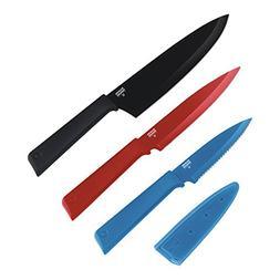 Kuhn Rikon Color Plus Professional Set, Graphite/Red/Blue