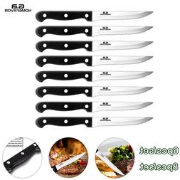 Professional Set of 6/8PCS Stainless Steel Steak Knives Kitc