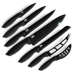 Knives Set Stainless Steel 7 Piece Cutlery Pizza Professiona