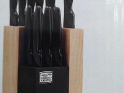 Chicago Cutlery ProHold 14 Piece Dual Knife Block Set with N