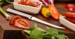 "Rada R126 Tomato Slicing Knife dual serrated 5"" blade, USA m"