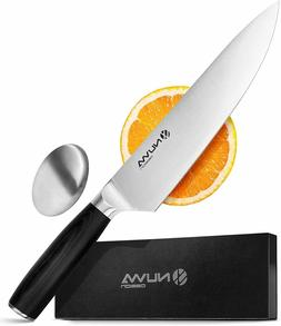Chef Knife Razor Sharp Full Tang Stainless Steel Kitchen Kni