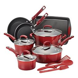 Rachael Ray® 14-pc. Red Cookware Set
