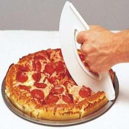 Rock'n Roll Pizza Cutter White