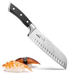 Santoku Knife Kitchen Knife Professional Japanese Chef Knife