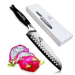 Zelite Infinity Santoku Knife - Comfort-Pro Series - High Ca