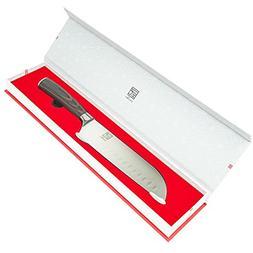 ISSIKI Cutlery Professional 7 Inch Santoku Knife, Kitchen Kn
