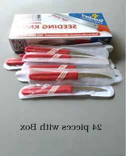 set 24 Thai Fruit Carving knife stainless steel vegetable kn