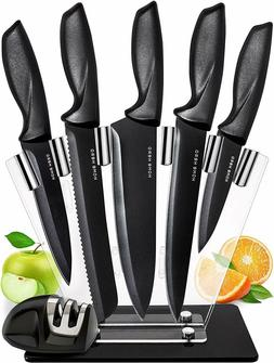 Chef Knife Set Knives Kitchen Set - Stainless Steel Kitchen