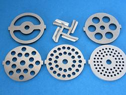 6-pc Set replacement knife and discs for Waring Pro Kalorik,
