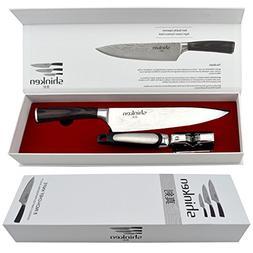 Shinken Professional japanese Chef's Knife ,8 Inch Blade H