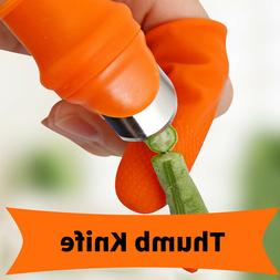 Silicone Thumb Knife Kitchen Knives Accessories Finger Prote