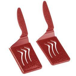 Kuhn Rikon Slice & Serve Spatula Knives, Rectangle, Set of 2