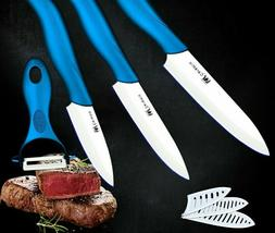 Slicing Paring Knife Set Cooking Kitchen Tools Lightweight E