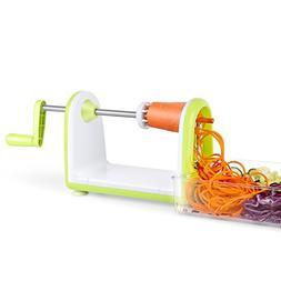 SimpleTaste Spiral Slicer 5 Blades Spiralizer, Vegetable Cut