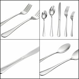 LIANYU 20-Piece Silverware Flatware Cutlery Set, Stainless S