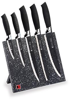 Imperial Collection IM-MGN5-W Stainless Steel Knife Set with
