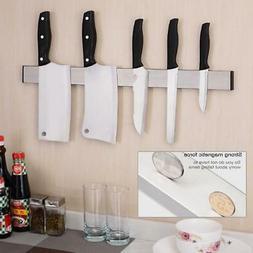 Stainless Steel Magnetic Knife Holder Storage Strip Kitchen