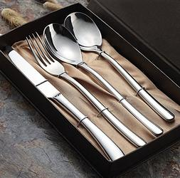 Windspeed Stainless Steel Steak Flatware Sets,Dinner Fork +