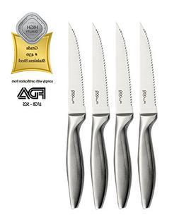 Stone boomer 4 Piece Stainless Steel Steak Knife Set