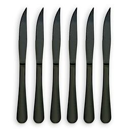 6-Pieces Stainless Steel Steak Knives Set-Use for Home Kitch