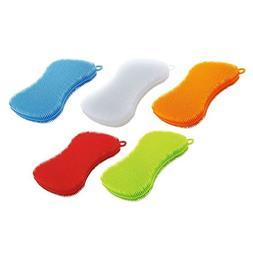 Kuhn Rikon Stay Clean Scrubber Sponge, Set Of 5