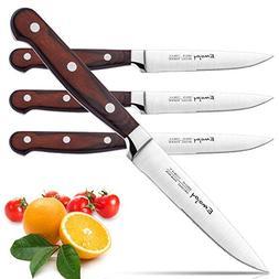 Steak knives, Emojoy Steak knife set of 4, Stainless Steel S