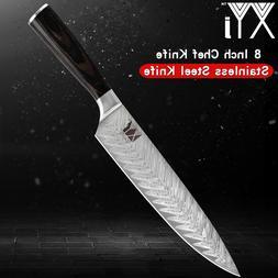 XYj Super Sharp Chef <font><b>Knives</b></font> 7Cr17mov Sta