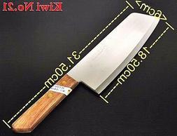 KIWI THAI STAINLESS KNIFE KNIVES COOKING KITCHEN STEAK WOOD