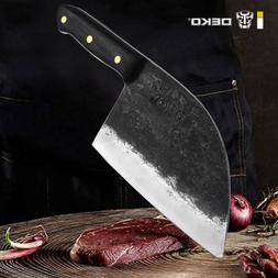 Traditional Handmade Forged Serbian Chef Kitchen Knives High