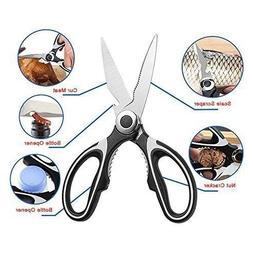 Tigeo Ultra Sharp Premium Heavy Duty Kitchen Shears And Mult