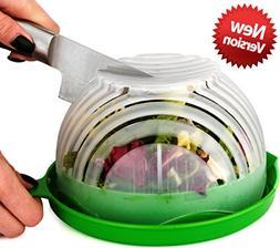 UPGRADE Salad cutter bowl - Best Salad maker. Vegetable chop