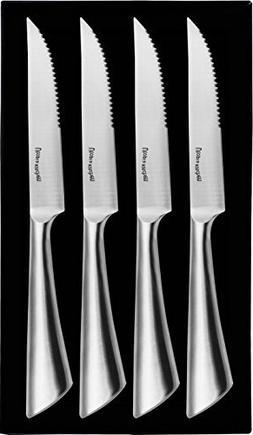 Utopia Kitchen 4-piece Stainless-Steel Kitchen Steak Knife