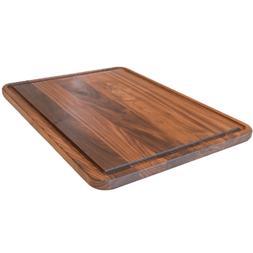 Extra Large Walnut Wood Cutting Board by Virginia Boys Kitch